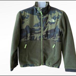 The North Face Fleece Camo Jacket Sz.10 Boys